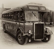 West Riding Leyland Tiger (BW) by David J Knight