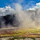 Yellowstone Steam by Linda Sparks