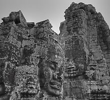 Bayon temple, Angkor Thom by Albert Tsui