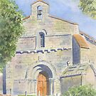 Chapelle des Templiers, Malleyrand, France by ian osborne
