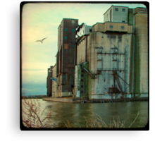 Industrial Water Canvas Print