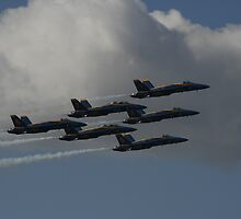 the Blue Angels  by fototaker