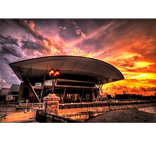 Boston Convention and Exhibition Center  Photographic Print
