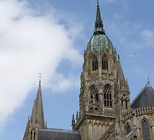 Bayeux Cathedral by erwina