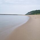 Along the shore-Frankfort Michigan by Jess Mo