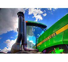 John Deere Tractor Photographic Print