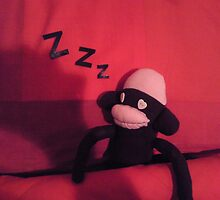 Sleepy Sock Monkey by Anna-Lisa Wilson