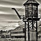 Old rail road station by pdsfotoart