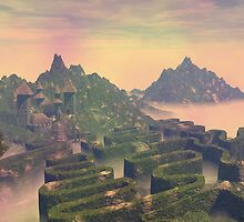 Island above the clouds by Carol and Mike Werner