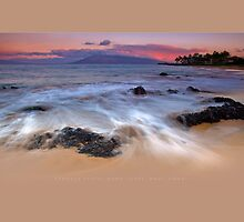 Kama'ole Pastel Dawn Surge by Ken Wright