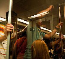On the subway by lgusem