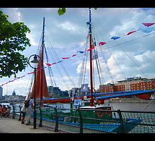 NOTRE DAME DE RUMENGOL - Tall Ship Race ,Dublin by Ferdinand Lucino