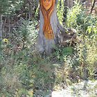 Tree Spirit living  in the the Forest by eoconnor