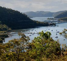 Hawkesbury River Bridges by rossco
