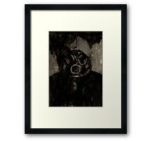 I See A Darkness Framed Print