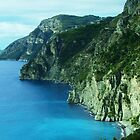 Rockface- Amalfi Coast by Cathy  Walker