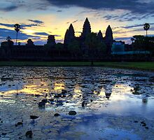 Sunrise at Angkor Wat by Albert Tsui