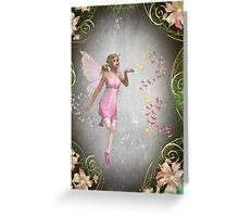 Sprinkling a little fairy dust... Greeting Card