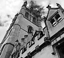 Magdalen tower, High Street, Oxford, UK by buttonpresser