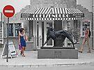 Stellenbosch street scene by awefaul