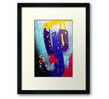 J Framed Print