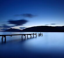 Fading into Blue by Angus Clyne