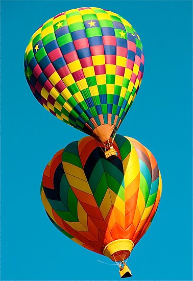 Balloon Fest by Cheryl  Lunde