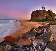 Nobby's Sunset by RedMonkey Photography