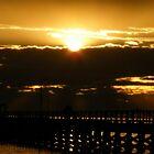 Sunset - Moonta Bay by Elizabeth Rose Rawlings
