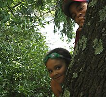 Peek-a-Boo by Judith Hayes