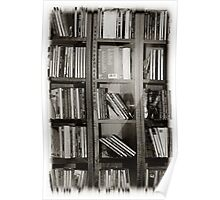 Musicology Black and White Poster