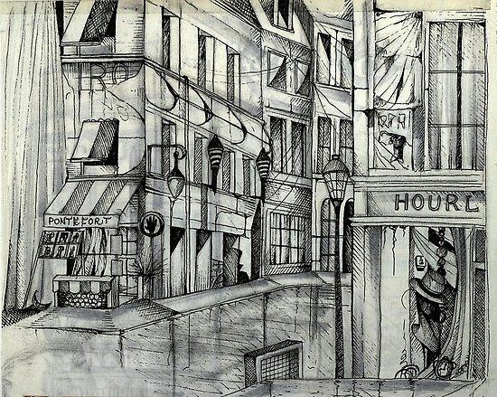 Lonely In Paris by John Dicandia  ( JinnDoW )