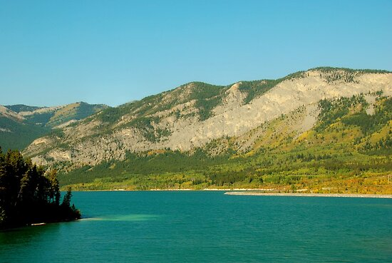 Barrier Lake by Sean Jansen