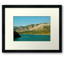 Barrier Lake Framed Print