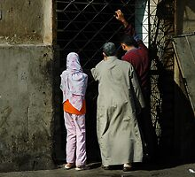 Let us in - Cairo streets by fanis logothetis