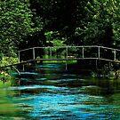 Bridge over water by jammingene