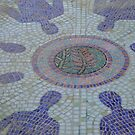 Meeting Place in Mosaic Tiles by Karen Stackpole