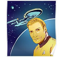 Captain James T Kirk Poster