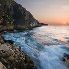 Cornish Sunset at St Isaac by Matt Stansfield