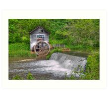 Hyde Mill Revisited Art Print
