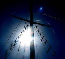 Sailing to America © by JUSTART
