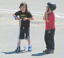 WAIT!!!  Mom Said We Have to Wear the Helmet by Patty Gross