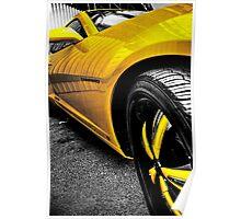 Bumblebee Camaro Poster