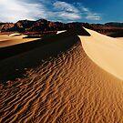 Death Valley Sand Dunes by Sam Scholes