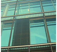 glass wall by AgaSilva