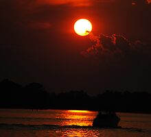 River Sunset by Mel C