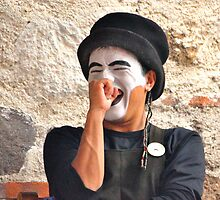 Laughing Mime by Valerie Rosen