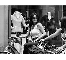 Life in Lucca Photographic Print