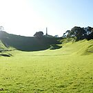 One Tree Hill Panorama  by Adam Jones