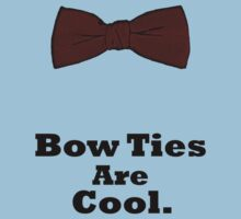 Bow Ties Are Cool. by Ellen Jones